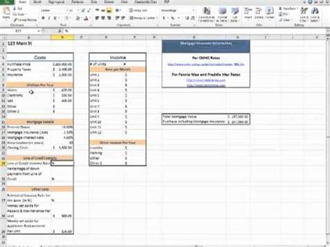 House Buying Calculator Spreadsheet by Rental Property Calculator Spreadsheet