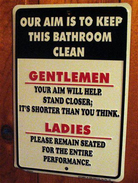 funny bathroom signs for cleanliness life in the backwoods bathroom rules