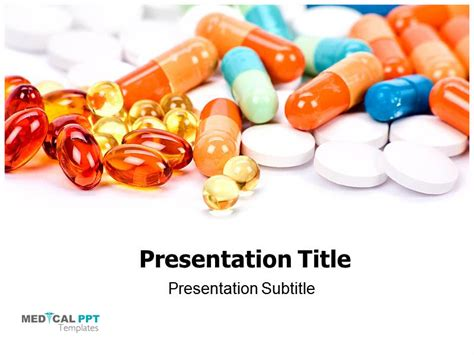 Medicinal Pills Template Http Www Medicalppttemplates Pharmaceutical Powerpoint Templates