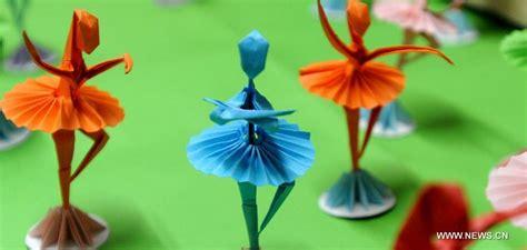 Origami Ballet Dancer - folk origami dancers 2 society