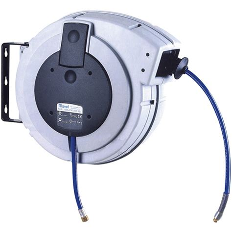 Air Hose Reel 8 M Plastik Top Quality Perkakas Angin Selang air hose reel 10mm x 14 1m