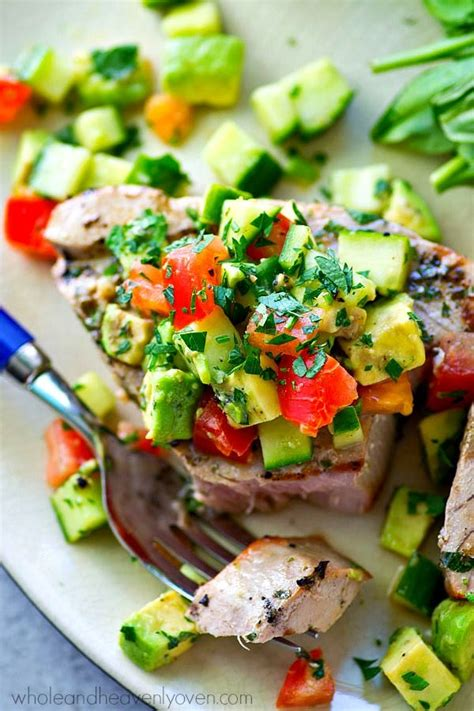 ahi tuna steak recipes food network 25 best ideas about grilled tuna steaks on