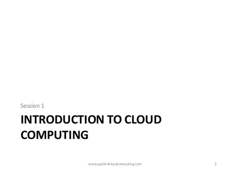 Mba In Cloud Computing In India by Cloud Computing Workshop At Iit Bombay