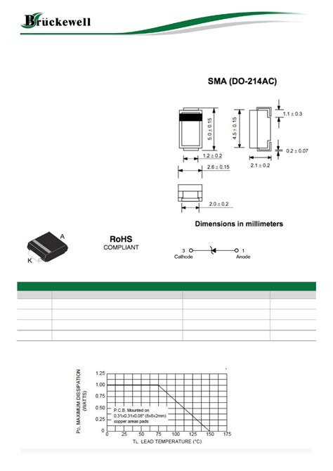 datasheet de la diode sz15b3 pdf fiche technique datasheet zener diode