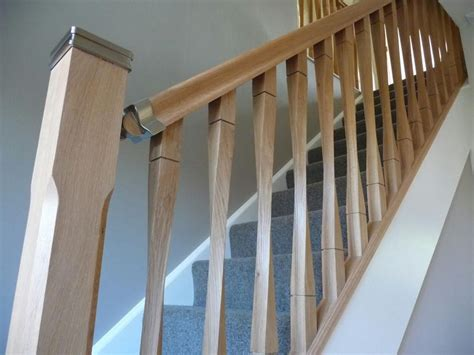 oak stair banister oak ash hemlock pine contemporary raymond twist