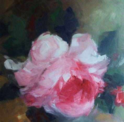 acrylic painting roses roses original painting acrylic on canvas panel