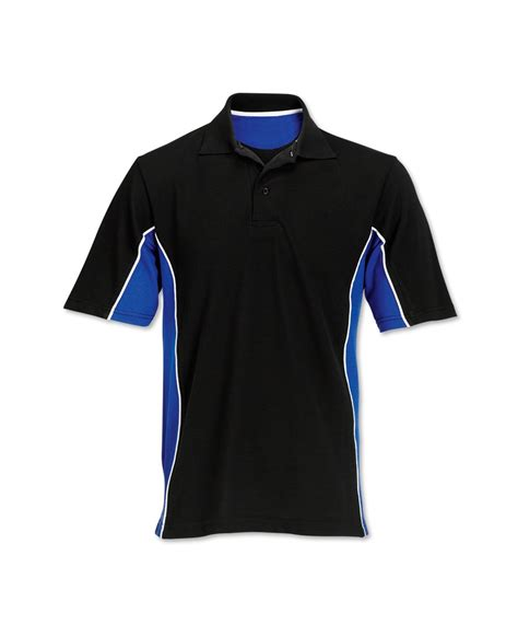 Shirts For Contrast Side Panel Polo Shirt Workwear Alexandra