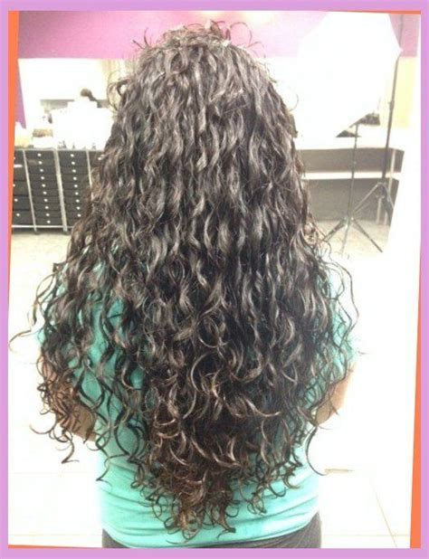 spiral perms 2014 short layered hair wit loose perm spiral perm long layered