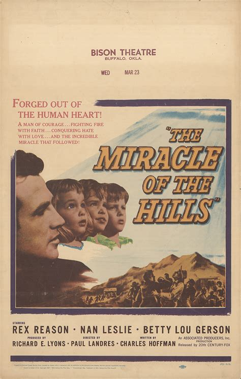 The Miracle 1959 Free Miracle Of The The 1959 Original Poster Fff 20345 Fff Posters