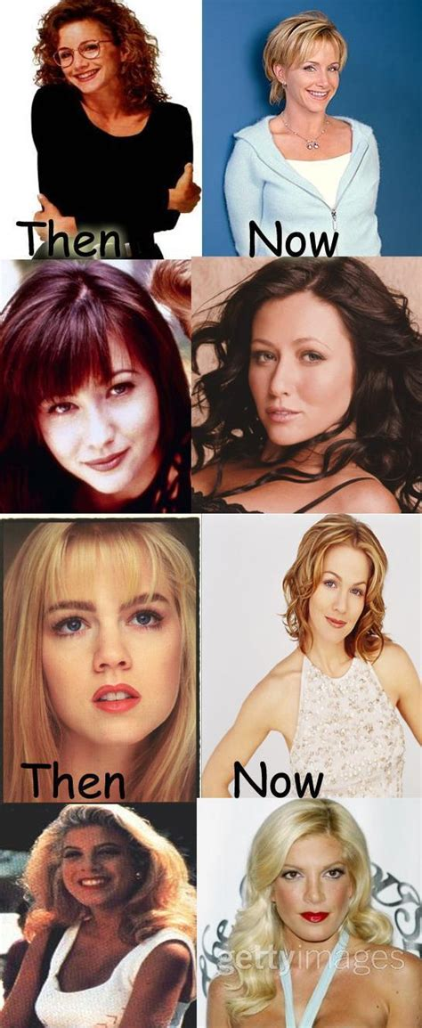 beverly hills 90210 original cast of now beverly hills 90210 cast now and then