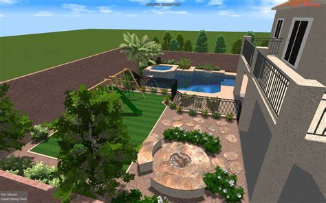 backyard landscaping las vegas henderson landscapers offer one call service for landscaping needs desert springs