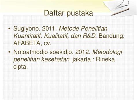 Metodologi Penelitian Kesehatan Bysoekidjo Notoatmodjo metode pengambilan sel