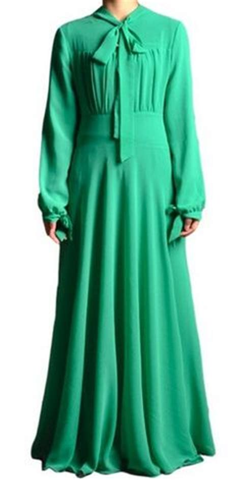 Maxi Green Muslimah the o jays sleeve and sleeve on