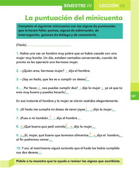 pdf libro de texto todas las superadas superadas descargar la puntuaci 243 n del minicuento bimestre iv lecci 243 n 16 apoyo primaria
