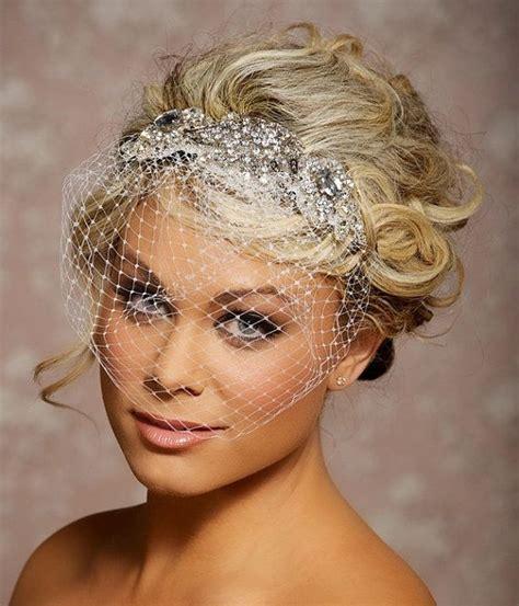 Wedding Hair Birdcage Veil by 25 Best Ideas About Birdcage Veils On