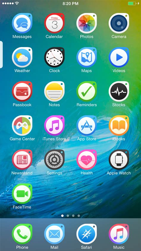 get themes for iphone without jailbreak ace n ios 9 1 1 themes xarold repository