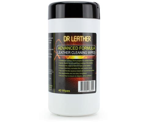 Leather Wipes by Dr Leather Advanced Cleaning Wipes Clean Your Car