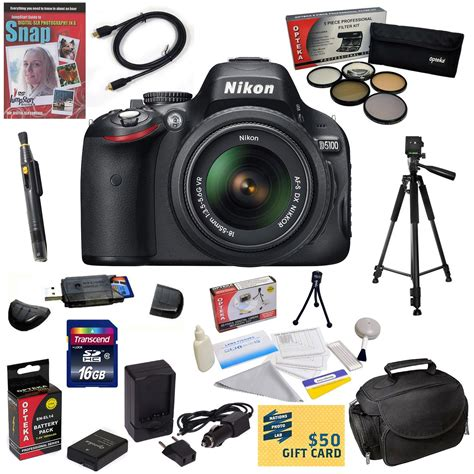 nikon d5100 best lens nkd51001855kit1 digital slr nikon d5100 w 18 55mm