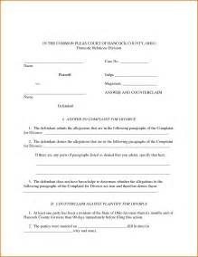 Separation Certificate Template – Separation Agreement Template for Married couple Australia