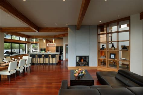 modern open floor house plans modern house dining room contemporary floor plan mexzhouse com fireplace open plan living dining kitchen modern home