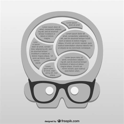 genius brain vector free