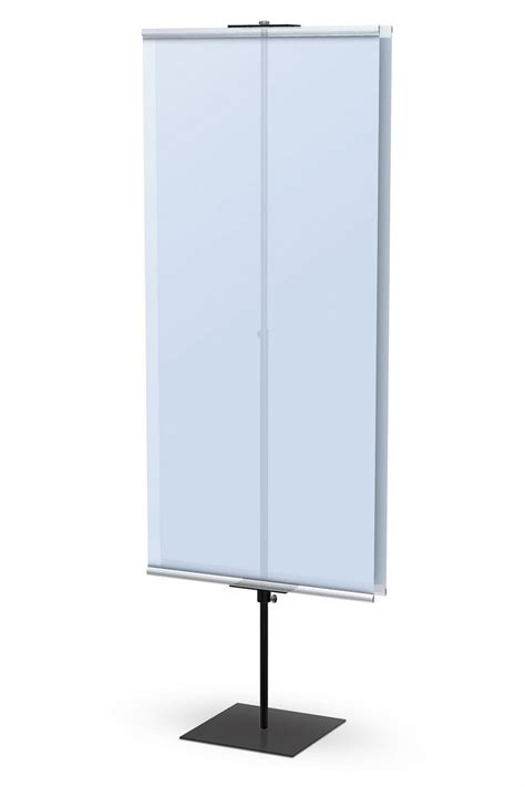 7 Pros Of One Stands by Promo Banner Stand Two Sided Portable Banner Stand