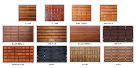 wood garage doors prices wooden garage doors