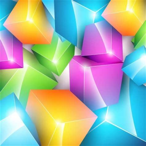 wallpaper garis warna warni hd kubus warna warni vector latar belakang vector latar