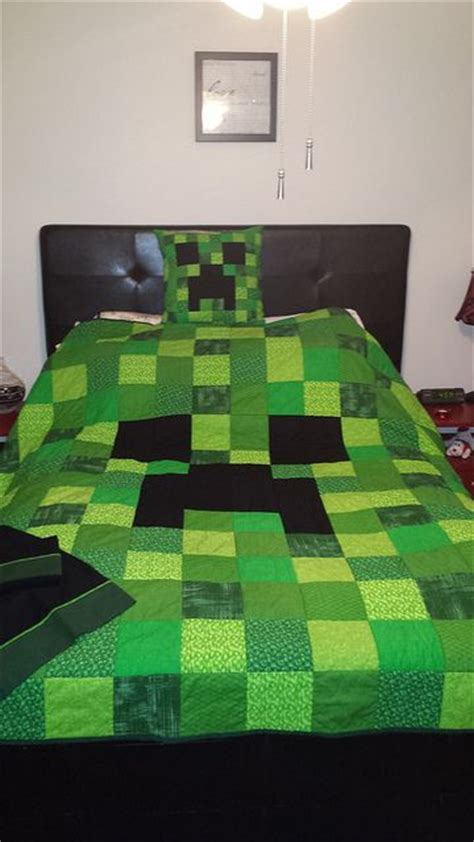 minecraft bed sheets 49 best minecraft decoration ideas images on pinterest