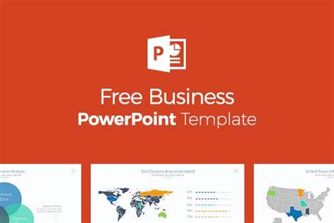 Free Business Powerpoint Templates Professional And Easy Company Presentation Template Free