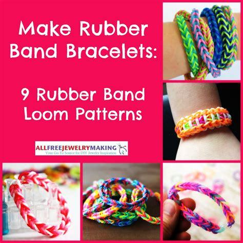 rubber band bracelets  rubber band loom patterns allfreejewelrymakingcom