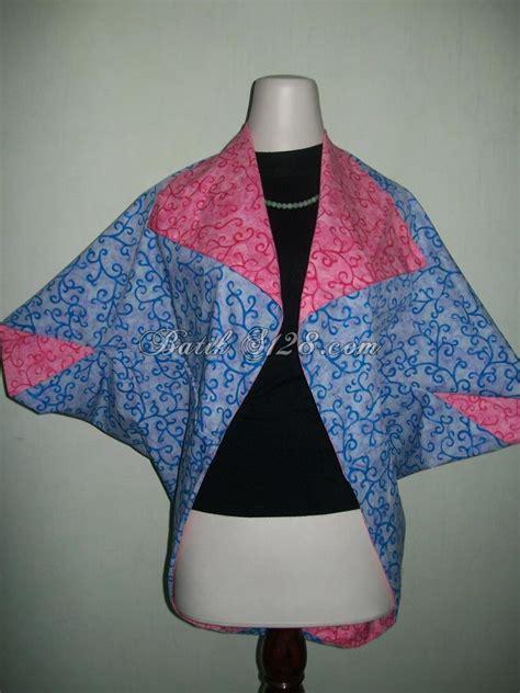 Rok N Bolero Batik Rok N Bolero Batik Kirana Penj Murah paduan warna biru dan merah untuk bolero batik bolak balik