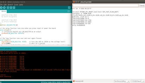 tutorial arduino ubuntu arduino setup for esp32 tutorials