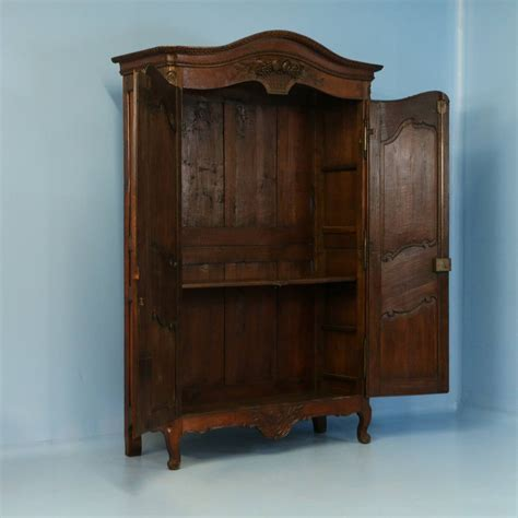 Antique Oak Armoire by Antique Carved Oak Armoire Circa 1800 At 1stdibs