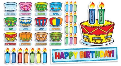 birthday board template best photos of birthday bulletin board templates candles
