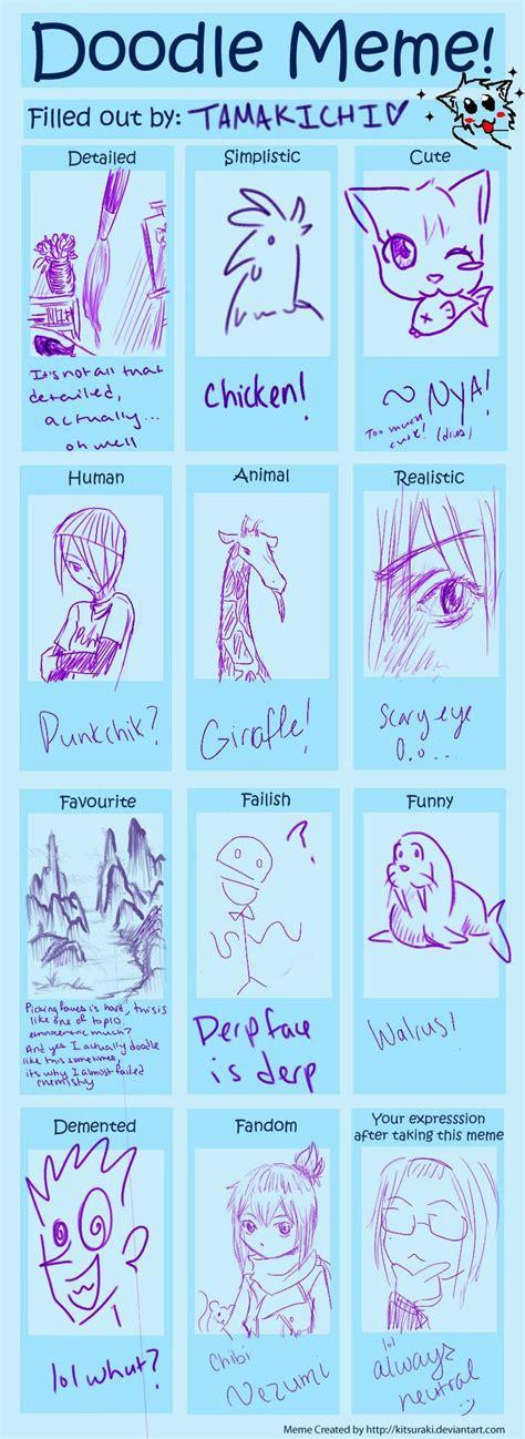 doodle meme doodle meme by tamakichi on deviantart