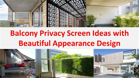 apartment patio privacy screen balcony privacy screen ideas with beautiful appearance design home improvement inspiration