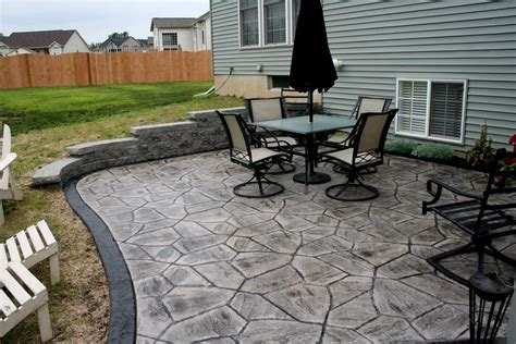 Cost To Build A Concrete Patio by Concrete Patio Deck Home Design Ideas