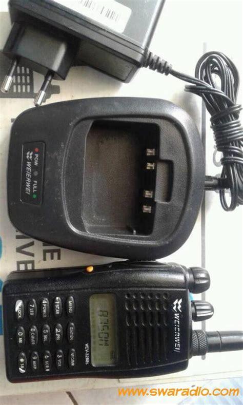Jual Charger Weierwei 3288 Asli Baru Radio Komunikasi Elektronik T dijual ht werwei vev 3288s komplit charger swaradio