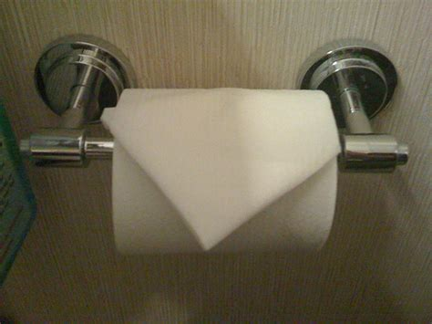 How To Fold Toilet Paper Fancy - toilet paper folding