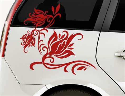 Autoaufkleber Set by Autoaufkleber Kiss Of Rose Set
