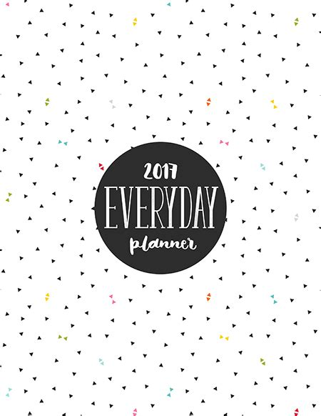 Planner Cover Printable