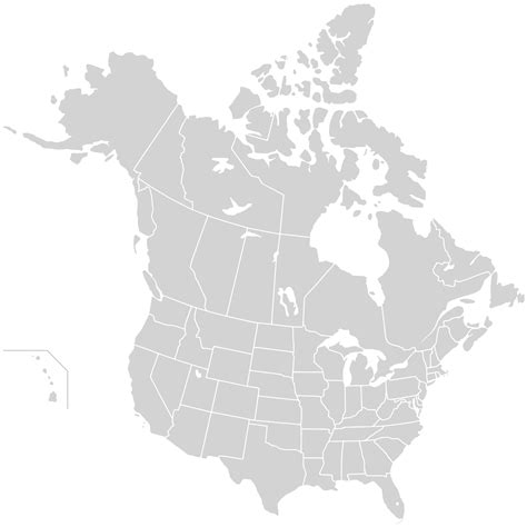 america map provinces and states blank america map with states and provinces