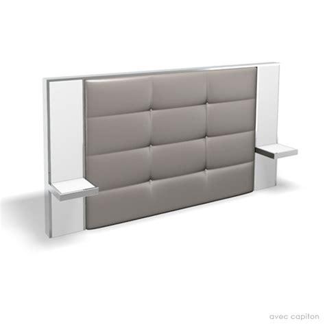 Tete De Lit Avec Table De Chevet by Tete De Lit Avec Table De Chevet Integre Design En Image