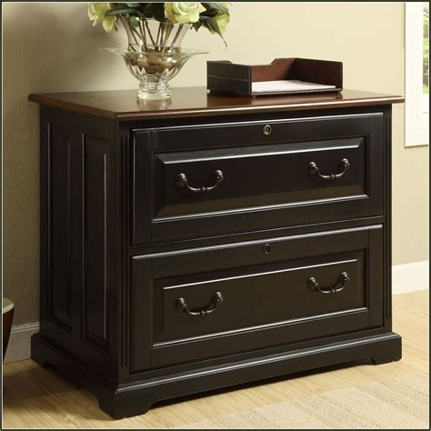 Black Wood Lateral File Cabinet Black Wood Filing Cabinets Smileydot Us