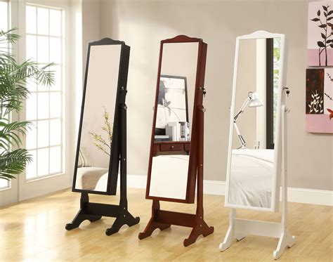 Floor Mirror Armoire by Floor Mirror Jewelry Cabinet Manicinthecity