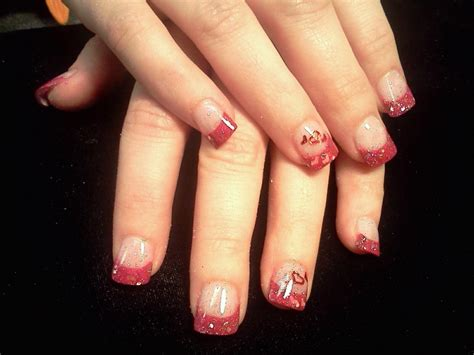 acrylic nails for valentines 17 best images about acrylic nail designs on