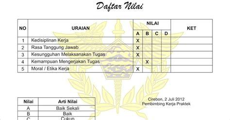 desain sertifikat pkl