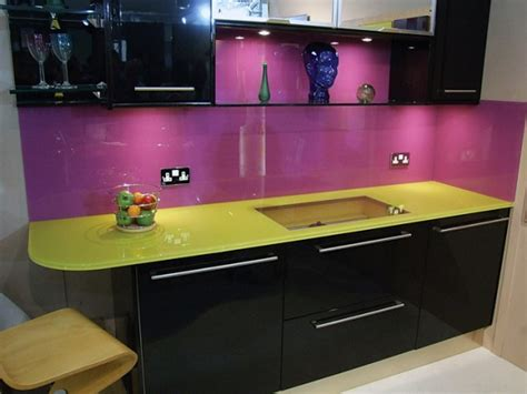 purple kitchen backsplash purple kitchens
