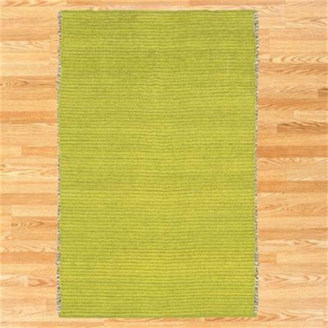 Lime Green Kitchen Rug Chenille Jute Rug Lime Green Eclectic Rugs By Cost Plus World Market